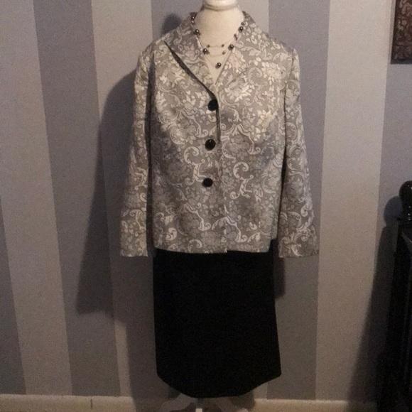 Evan Picone Jackets Coats Evanpicone Womens Size 16 W Dress Suit